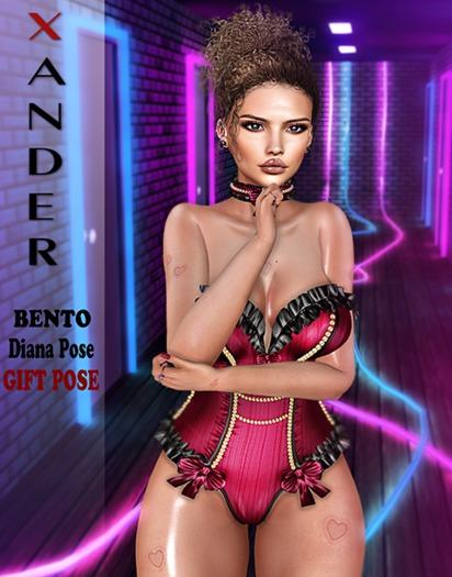 Xander - Diana Bento Pose Gift #2
