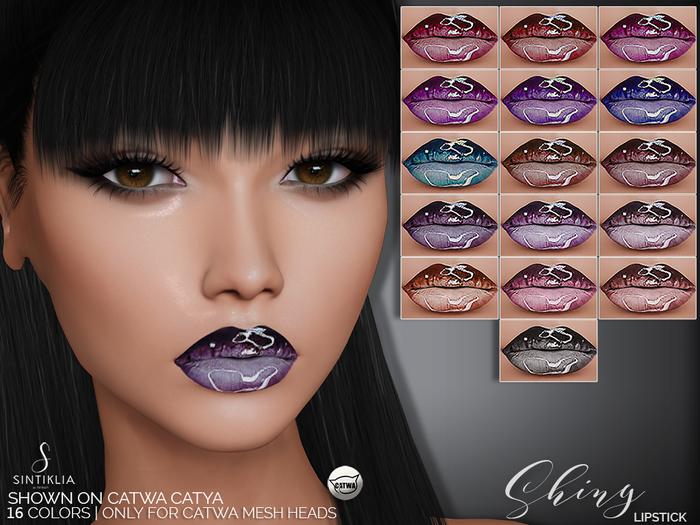 Sintiklia. - Lipstick Shiny(CATWA)