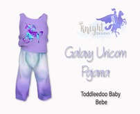 [KNIGHT DESIGNS] GALAXY UNICORN PAJAMA - TD BABY & BEBE