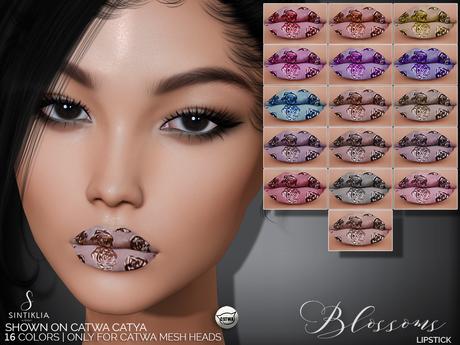 Sintiklia. - Lipstick Blossoms(CATWA)