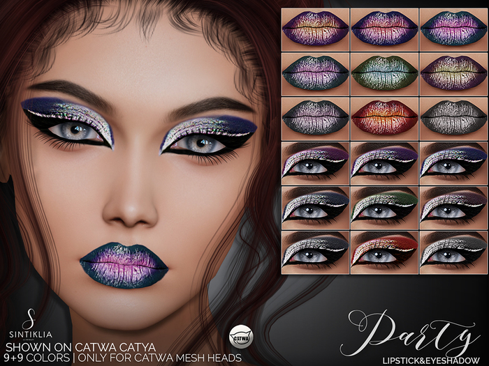 Sintiklia. - Lipstick&eyeshadow Party(CATWA)