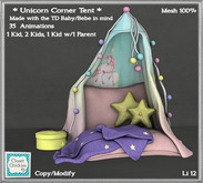 *CC* Unicorn Corner Tent [wear+unpack]