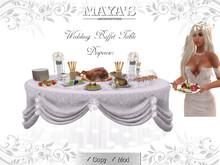 Maya's  -  Wedding Buffet Table / Dispenser
