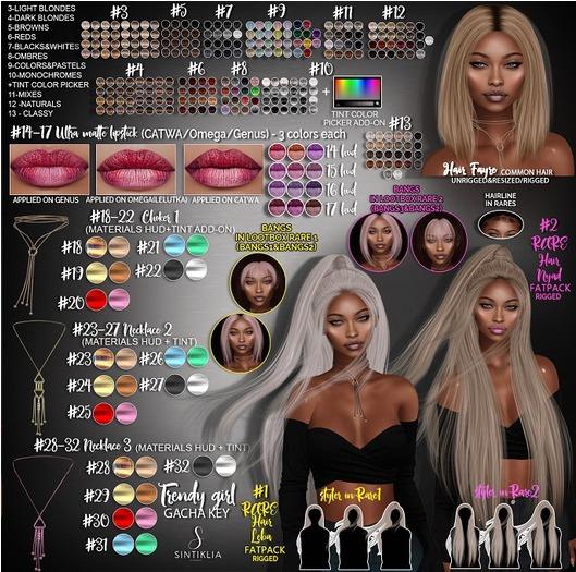 06Sintiklia - Trendy girl - Hair Fayre Reds