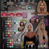 010Sintiklia - Trendy girl - Hair Fayre Monochromes+tint