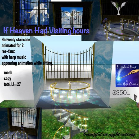 REVISED If Heaven Had Visiting Hours-Crate