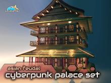 solares >> Asian Feudal Cyberpunk - Palace Set