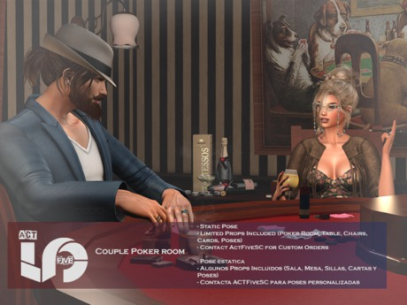 ACT5-164-Poker Room Backdrop & Poses BOXED (ADD)