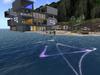 Surfboard lasershow