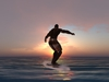 Surfboard pose 025