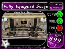 * New * Elegant Stage * Fully Equipped *