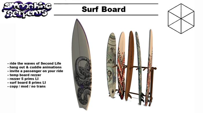 - Surf Board - Surf, Hangout & Cuddle (PG)