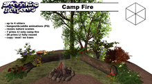 - Camp Fire - nature scenes, animated (PG)