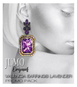 JUMO Originals - Valencia Earrings Lavender - ADD ME