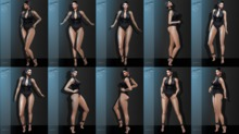 <EMOZIONE> Pose Pack **Model Poses 1 - 10**! [FATPACK]