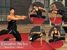 Creative Stylez - Bento Poses - Athletics -