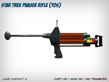 Star Trek Phaser Rifle (TOS)