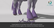 Lunistice: Amethyst - Water Horse Feathers