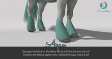 Lunistice: Aqua - Water Horse Feathers