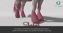 Lunistice: Sherbert - Water Horse Feathers