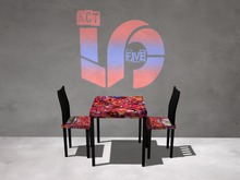 ACT5 Flash Table & Chairs BOXED