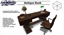 - Antique Desk - scripted & animated (PG)
