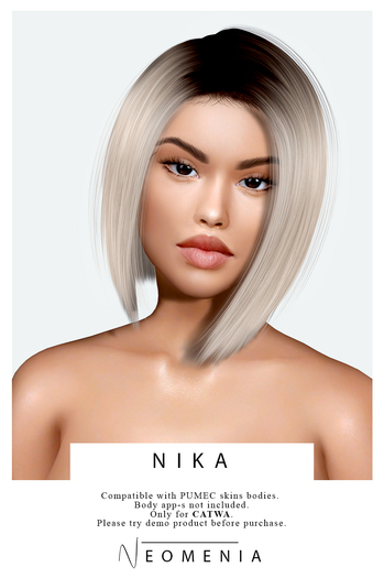 Neomenia - skin&BeautyBox - Nika #FATPACK - CATWA