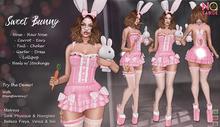 No Cabide :: Sweet Bunny Set - Pink