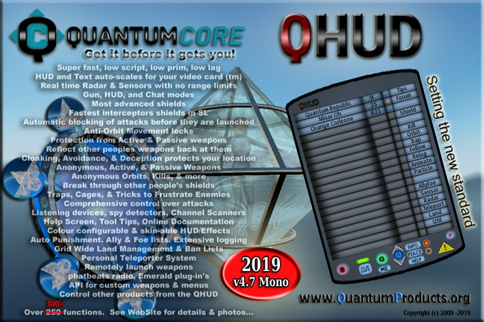 QHUD: Combat-Shields-Tools-Radar-Security-Invisibility (((DEMO)))