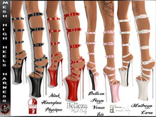 [ Mesh ] 4 Colors High Heels - Harness