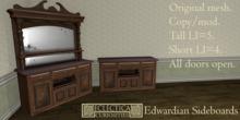 Eclectica Curiosities Edwardian Sideboards