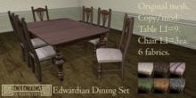 Eclectica Curiosities- Edwardian Dining Set