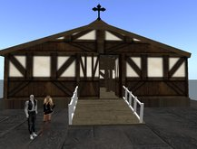 Dream Barn with accessaries like lanterns, rope, & hay (BOXED)
