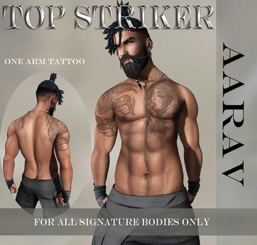 TOP STRIKER / SIGNATURE Aarav Tattoo
