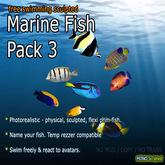 Marine Fish - Pack 3 (Free-Swimming)