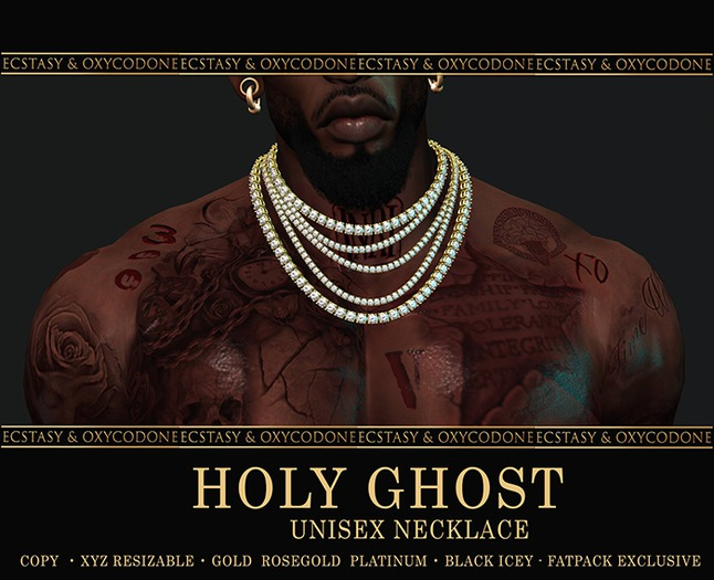 {E&O-Holy Ghost Five Vs} Gold Drip