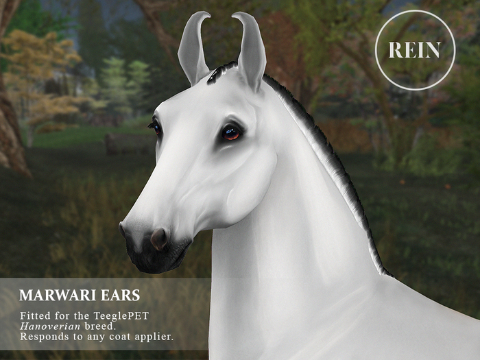 REIN - TeeglePet Marwari Ears HANOVERIAN