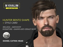 Hunter Male Shape for Catwa Head Daniel