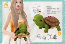 MishMish - Fancy Turtle (Gems On Shell)