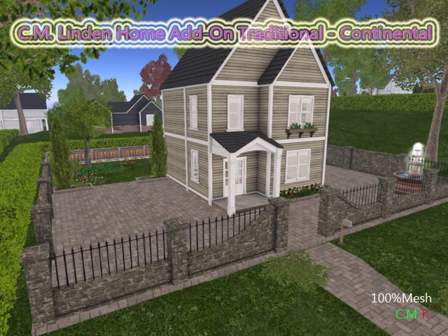 C.M. Linden Home Add-On Traditional - Continental