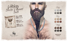 [MF] Daniel Bento Viking Stache & Beard - Night