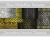 Decorative Armour Plate - Classical -  Skye WhiteBox Textures