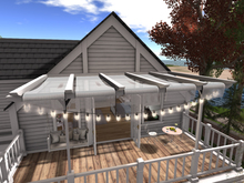 Pergola for Linden Home Balcony - Traditional - Winchester