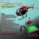 ヘリコプター - OH-6カイユース