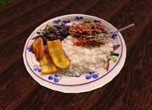 FULL PERM Pabellon Criollo Venezolano (Venezuelan Traditional Dish)