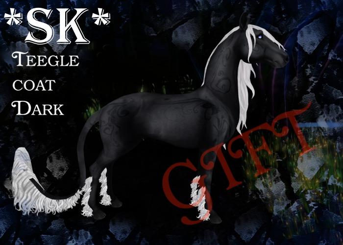 *Sk* Teegle Pet/Avatar Dark GIFT