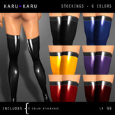 KARU KARU - Latex Stockings