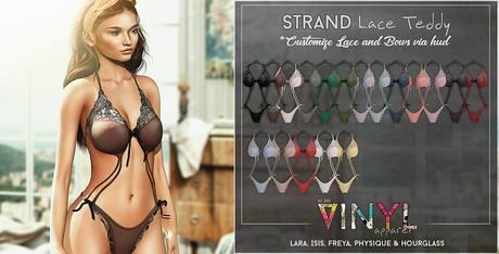 VINYL - Strand Lace Teddy Pak Fatpak