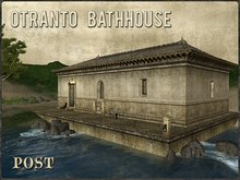 POST: Otranto Bathhouse - Vintage Romanesque Prefab