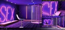 K&S - // Neon play room // Backdrop